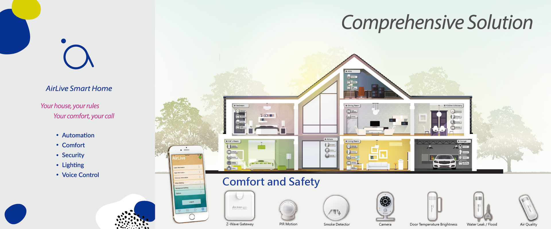 Comprehensive Solution - Comfort and Safety