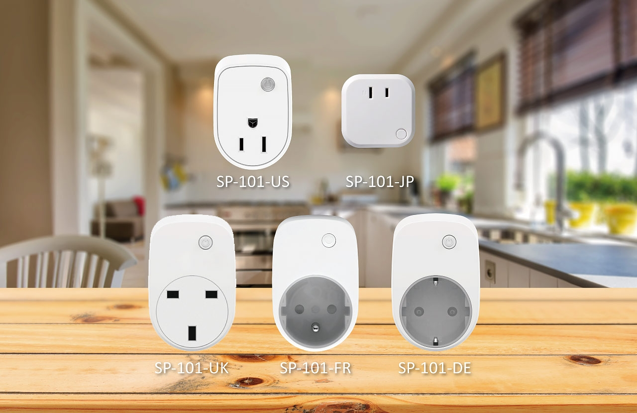 SP-101 Smart Plug(DE)Z-Wave Plus_Product List_Smart Home