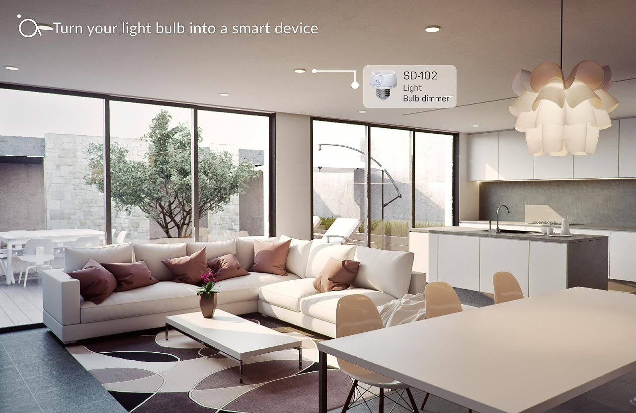 Turn your light bulb into a smart device
