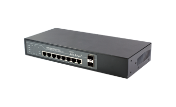 POE-GSH1008ATU-110  10-port Gigabit unmanaged PoE+ Switch