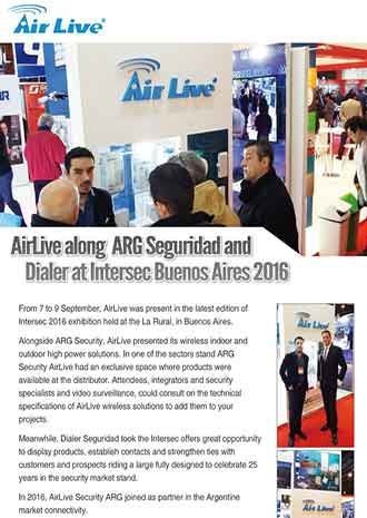AirLive at Intersec Buenos Aires 2016