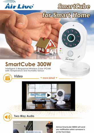 AirLive Smartcube for Smart Home