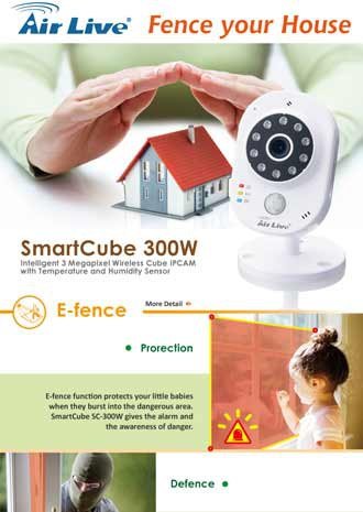 AirLive Smartcube SC-300W for Home
