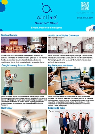 AirLive Sloud for Smart IoT home and office (ES)