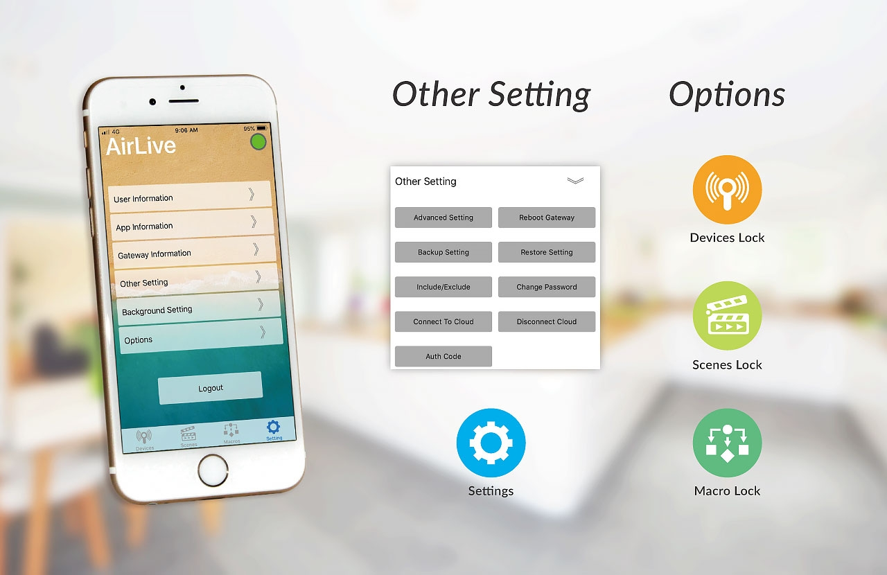 AirLive SmartLife Plus: Setting