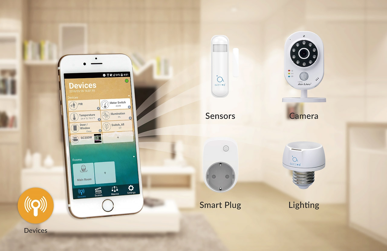 AirLive SmartLife Plus: Device