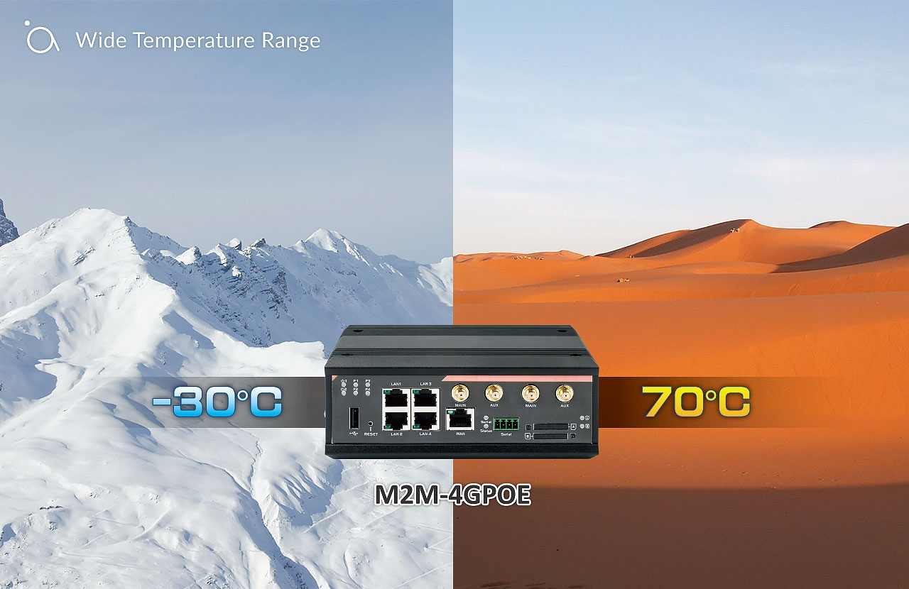 Wide Temperature Range