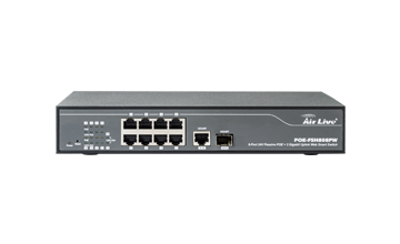 POE-FSH808PW 10-port Web-smart PoE Switch