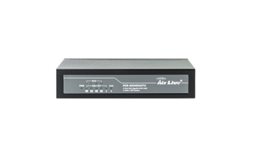 POE-GSH604ATU 6-port Gigabit unmanaged PoE+ Switch