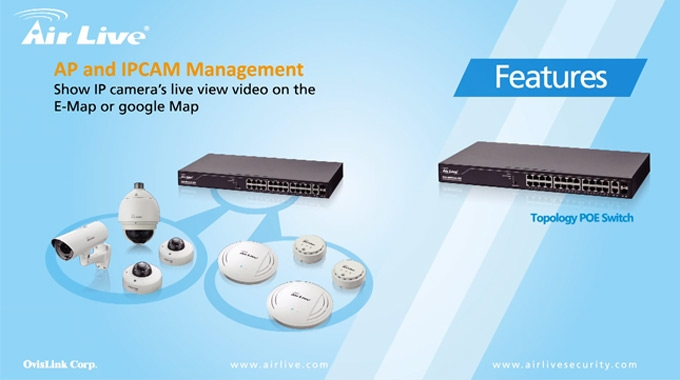 AirLive Topology POE Switch